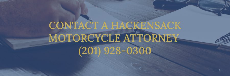 Hackensack motorcycle accident attorney